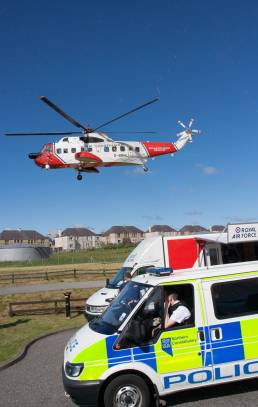 Coastguard helicopter,