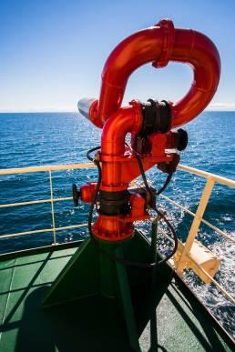 Nautical fire cannon